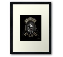 You Shall Be As I Am Framed Print