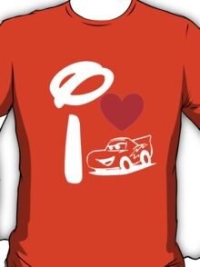 I Heart Cars Land (Inverted) T-Shirt