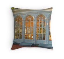 The Enchanting Solarium at Ringwood Manor Throw Pillow
