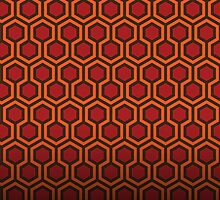The Shining Carpet - Room 237 Poster by Design-Magnetic