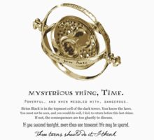 Time-Turner - Dumbledore Quote by Fawkes