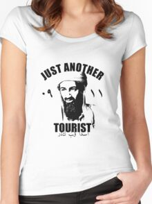 osama bin laden Women's Fitted Scoop T-Shirt