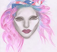 Psychotic Music Head! - Lady Gaga by MarryTheSequins