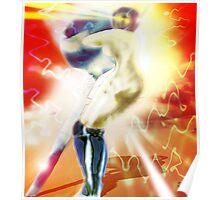 Sword Robot Poster