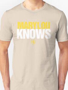 Discreetly Greek - Mary Lou Knows - Nike parody T-Shirt
