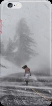 the spirit - iphone 4 & iphone 4s & iphone 5 case by harun mehmedinovic
