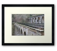 Aqueduct and Viaduct, Chirk Framed Print