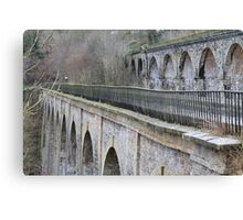 Aqueduct and Viaduct, Chirk Canvas Print