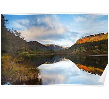Glendalough Dawn Poster