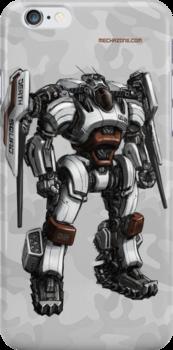 Death Squad Bounty Hunter Mech by Mecha-Zone
