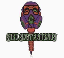 Sick Skateboards Spine Kids Tee