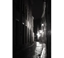 Dark city Photographic Print