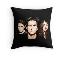 Teen Wolf 3B Cartoon Style Throw Pillow