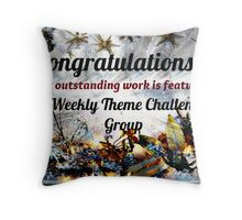 Feature Banner for Challenge - Weekly Theme Challenge Group Throw Pillow