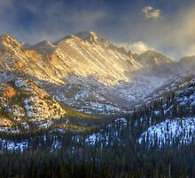 Longs Peak by Ken Smith