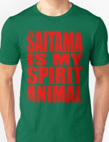 Saitama is my Spirit Animal Unisex T-Shirt