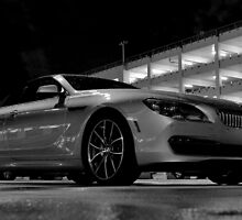 BMW in the Darkness at MIA Airport in Florida by Jeremy Lavender Photography