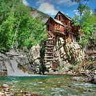 Crystal Mill View 2 by Ken Smith