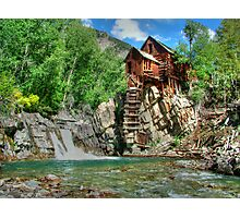 Crystal Mill View 1 Photographic Print