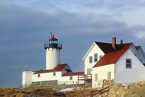 Eastern Point Lighthouse by john forrant