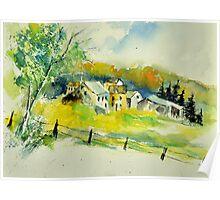 watercolor 311020 Poster