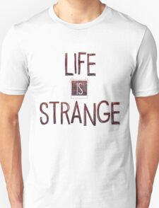 Life is strange edited logo T-Shirt
