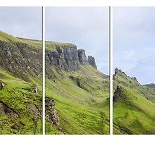 The Quiraing Triptych by Chris Thaxter