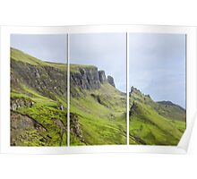 The Quiraing Triptych Poster
