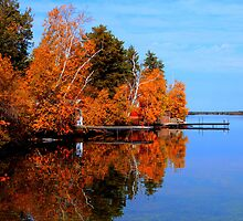 Autumnal Reflections by Larry Trupp