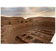 Chaco Canyon Kiva Poster