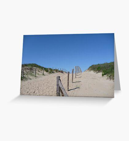 Dune Greeting Card