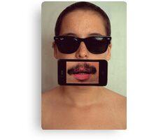mustache~ Canvas Print