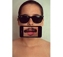 mustache~ Photographic Print