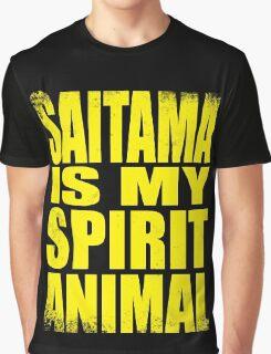 Saitama is my Spirit Animal - YELLOW Graphic T-Shirt