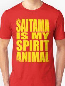 Saitama is my Spirit Animal - YELLOW Unisex T-Shirt