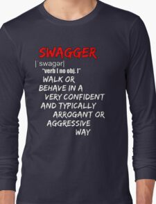 SWAGGER Long Sleeve T-Shirt
