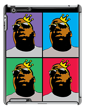 NOTORIOUS B.I.G. (4-COLOR) iPHONE | iPAD CASE by S DOT SLAUGHTER