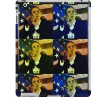 President Barack Obama - portrait iPad Case/Skin