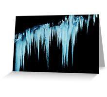 Icy Apparitions  Greeting Card
