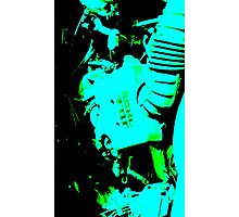Little Blue Engine Room Photographic Print