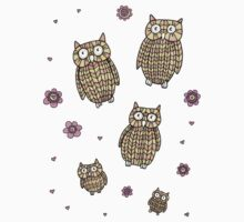 Owls Outing Kids Clothes