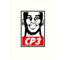 Chris Paul CP3 Obey Icon Art Print