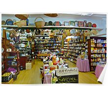 Inside the Speciality Food Store Poster