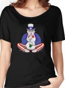 Uncle Sam Shush Women's Relaxed Fit T-Shirt