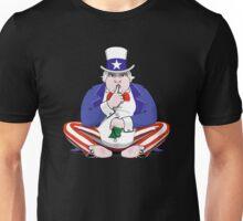 Uncle Sam Shush Unisex T-Shirt
