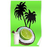 (….◕¸¸◕….)  U PUT THE LIME IN THE COCONUT PICTURE/CARD (….◕¸¸◕….) . Poster