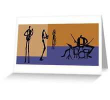 The Jazz Room 4 Greeting Card