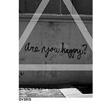 OVERFIFTEEN HAPPY ? Photographic Print