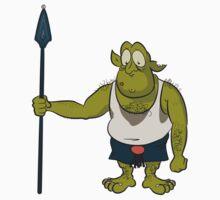 Sarik from Ozrik's Dragon Kids Tee