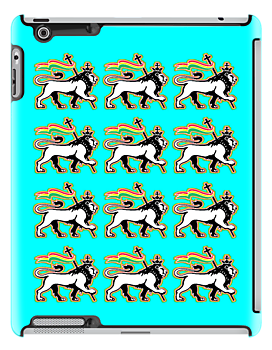 THE LION OF JUDAH iPOD & iPHONE CASES by S DOT SLAUGHTER